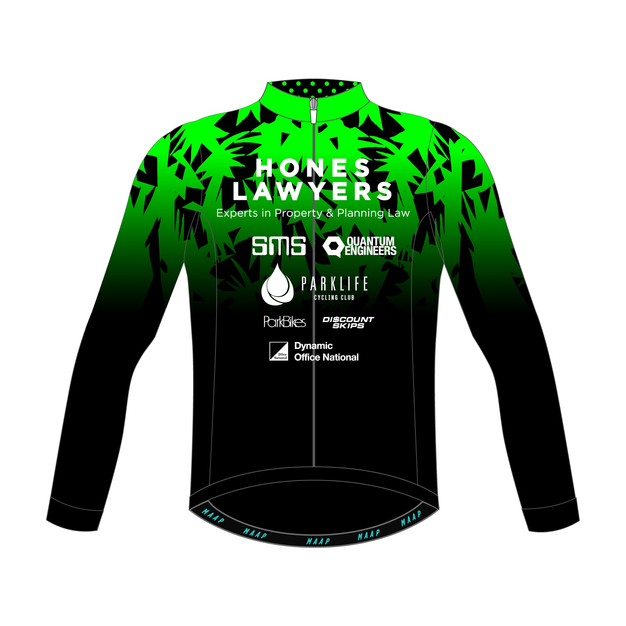 Parklife Cycling Club Long Sleeve Jersey