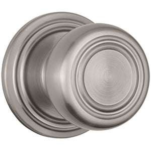 Webley Push Pull Rotate Hall / Closet door knob in Satin Nickel