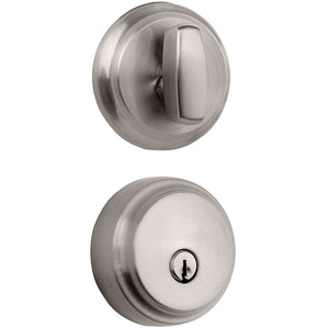 Brinks Push Pull Rotate Almarrion Deadbolt Satin Nickel