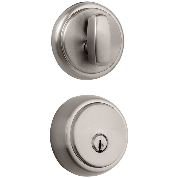 Amberhall Deadbolt Satin Nickel