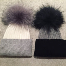 Load image into Gallery viewer, Adult cashmere and angora hat
