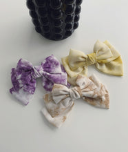 Load image into Gallery viewer, Tie dye handmade oversized hair bow