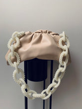 Load image into Gallery viewer, Handmade pearl link bag strap 4-5 days delivery