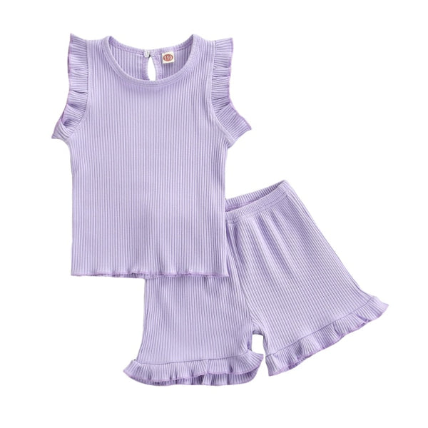 Purple Ruffles