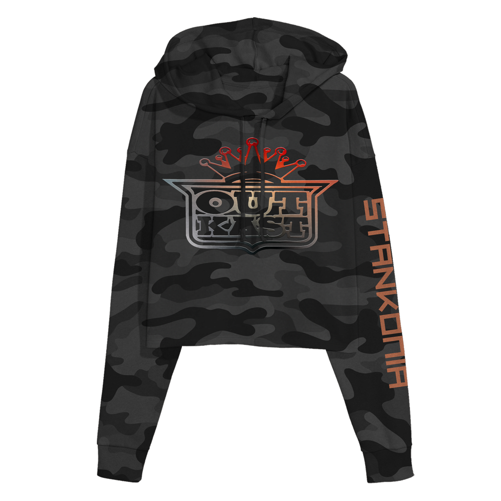 So Fresh So Clean Cropped Hoodie-Outkast