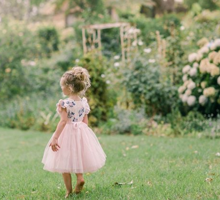 Gracey Floral Tutu (Dress / Romper) - Pink