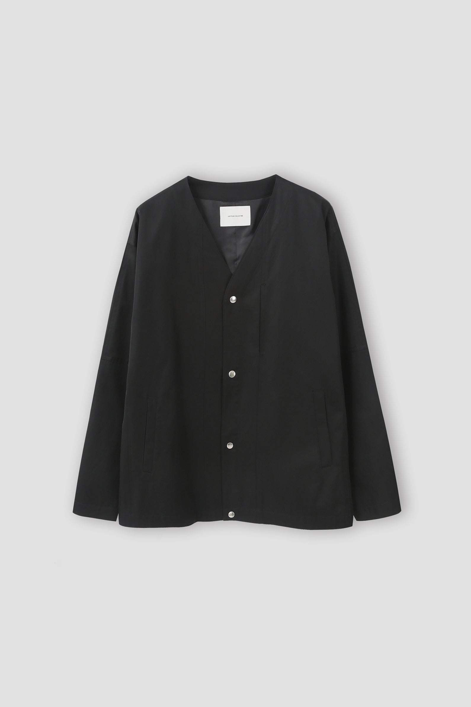 Collarless Jacket