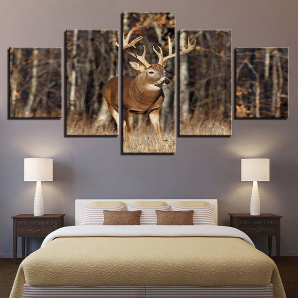 Wall Art - Printed Canvas Decoration - Deer