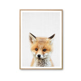 Canvas Poster Prints Rabbit Dog Deer Bear Fox Owl for Nursery -Room Decor