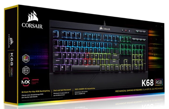 Corsair K68 RGB Mechanical Gaming Keyboard
