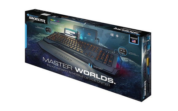 Roccat SKELTR Smart Communication Gaming Keyboard Grey