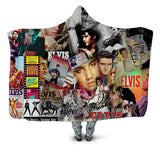 Elvis Presley Plush Blanket  Movie Poster Print Wearable \Throw Blanket