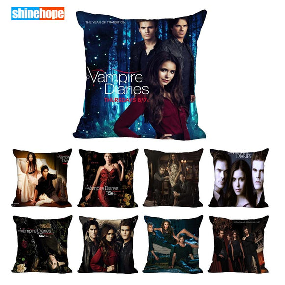 Vampire Diaries Decorative Pillowcase 4 sizes  14 options