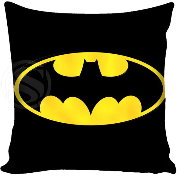 Customized Decorative Pillowcase Cover Batman Logo