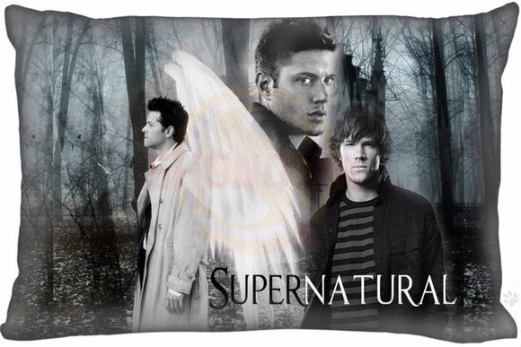 Supernatural Pillowcases Rectangle Zippered  35x45cm One Side