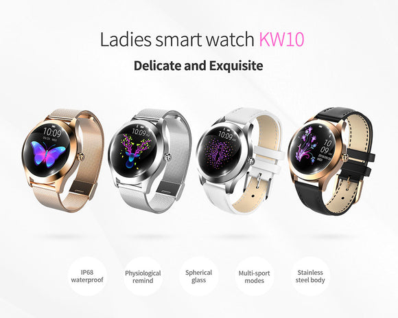 Ladies Fashion Smart Watch Bracelet with multi-function Smartwatch connect to Apple IOS or Android