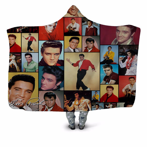 Elvis Presley Plush Blanket  Movie Wearable \Throw Blanket