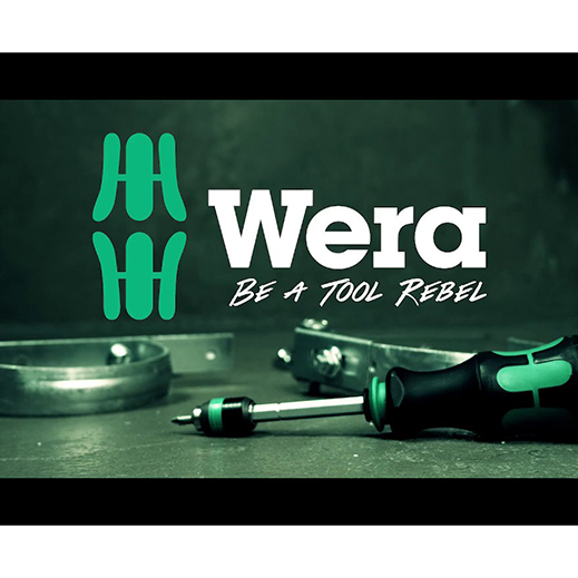 "Wera - The Brand for ""Tool Rebels"""
