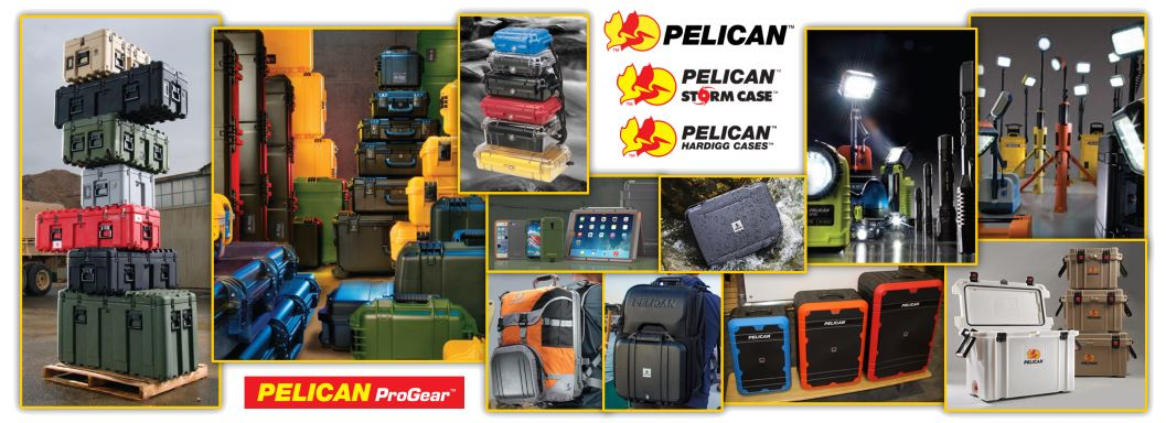 Pelican Products - American Made Flashlights and Storage Cases
