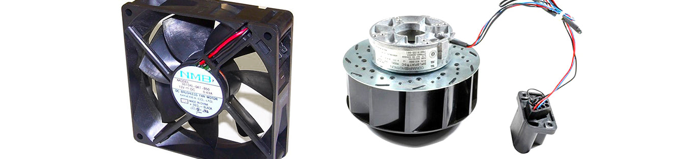 Fans, Motors & Heatsinks