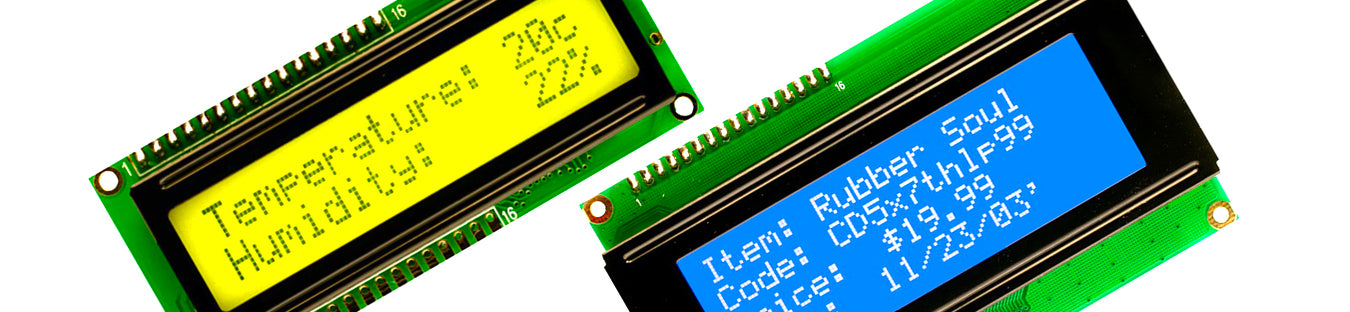 LCD Displays & VFDs