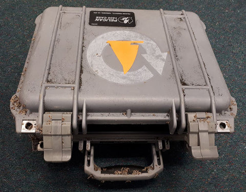 Pelican Case survived months at sea