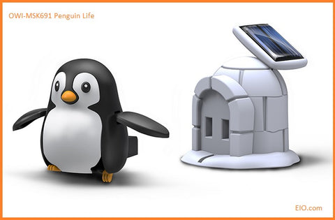 OWI-MSK691 Penguin Life solar powered toy