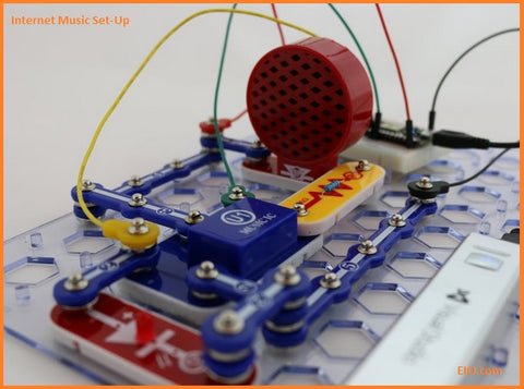 Elenco Snap Circuits Internet Radio