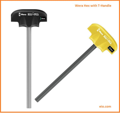Wera Hex with T-Handle