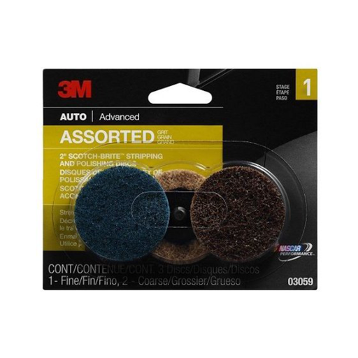 "3M 03059 Scotch-Brite 2"" Stripping/Polishing Disc"