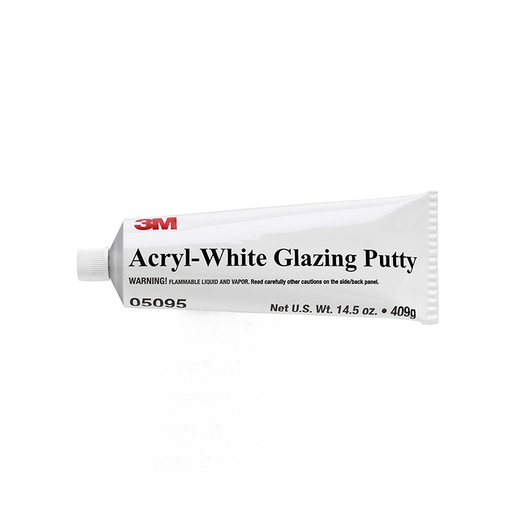 3M 05095 14.5 oz. Acryl-White Putty Tube
