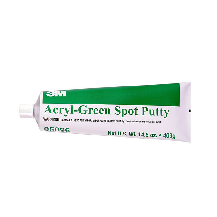 3M 05096 14.5 oz. Acryl-Green Spot Putty Tube