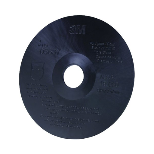 "3M 05637 5"" x 7/8"" Fiber Disc Backup Pad"