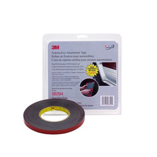 "3M 6394 1/2"" Grey Double Sided Attachment Tape"
