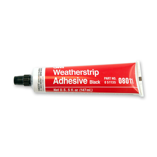 3M 08011 5oz. Black Weatherstrip Adhesive Tube