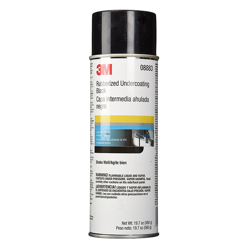 3M 08883 19.7 oz. Black Rubberized Undercoating