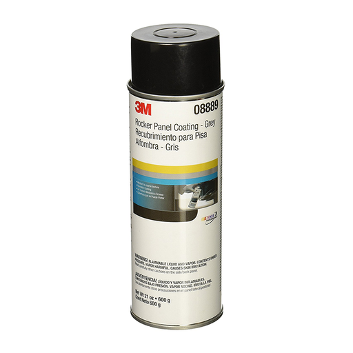 3M 08889 Grey Rocker Panel Coating, 21oz.