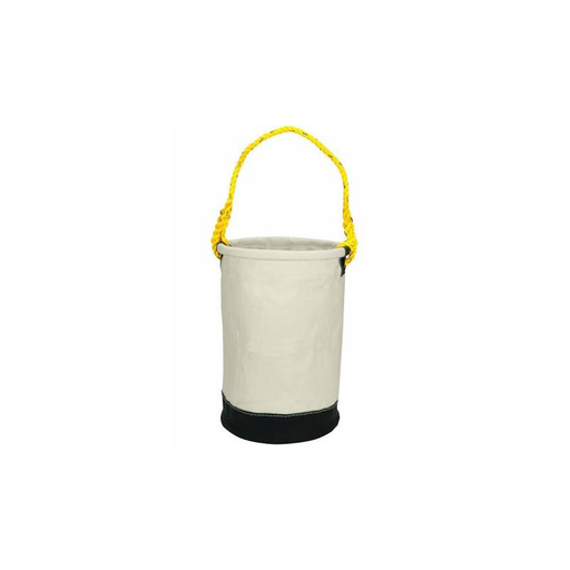 "CLC 107 Canvas Utility Bucket, Leather Bottom, 12""x16"""