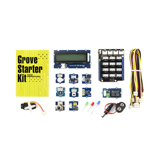 Seeed Studios 110060024 Grove Starter Kit for Arduino (Upgrade from v3)