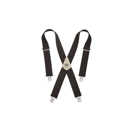 CLC 110BLK Heavy-Duty Work Suspenders, Black