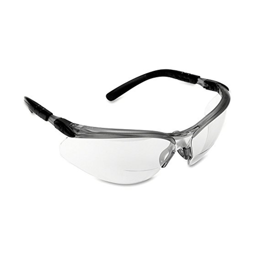 3M 11374 +1.5 Diopter Clear Bifocal Lens Reader's Safety Glasses