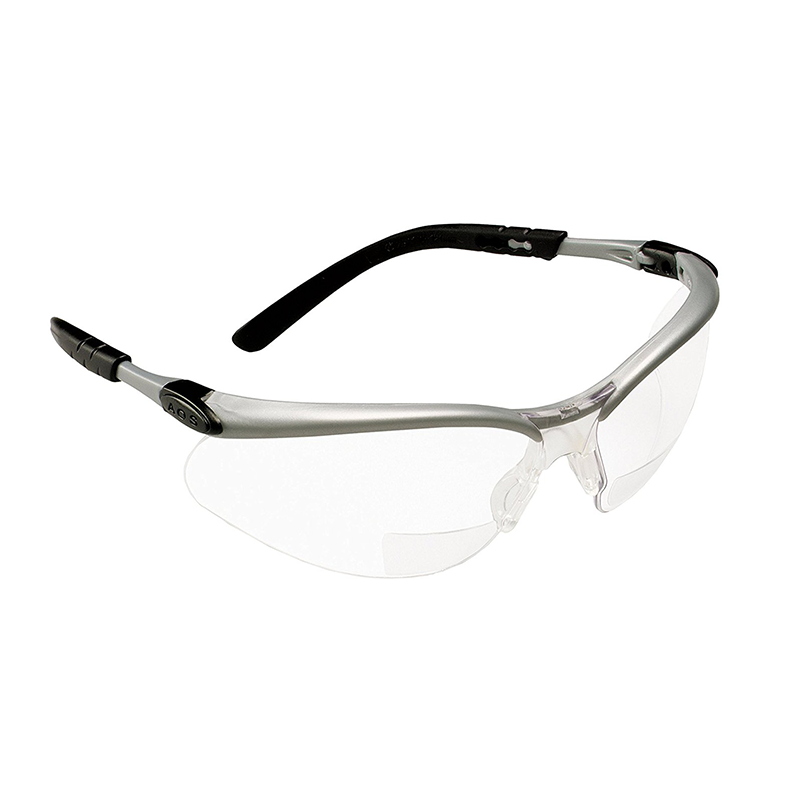 3M 11375-00000-20 Reader +2.0 Diopter Clear Lens Safety Glasses