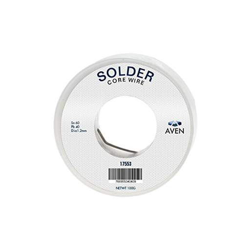 Aven 17553 1.2 mm 60/40 Leaded Solder