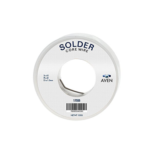 Aven 17555 1 mm 60/40 Leaded Solder