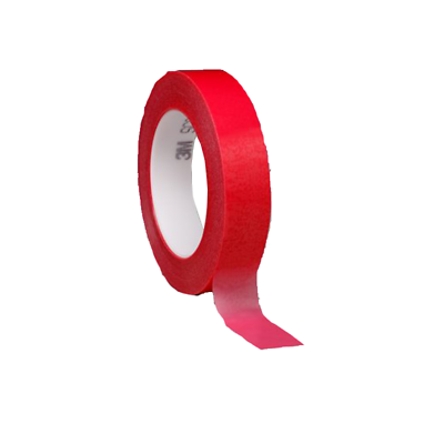 3M Circuit Plating Tape 1280 Red, 8 in x 72 yds x 4.2 mil