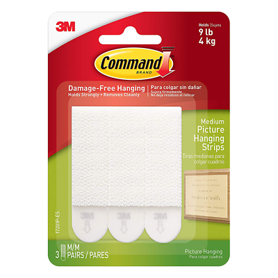 Command Medium Picture Hanging Strips 17201P-ES