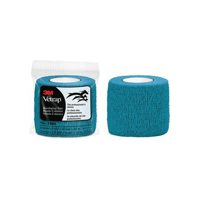 3M Vetrap Bandaging Tape, 1404T Teal