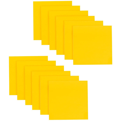 Post-it Super Sticky Full Stick Notes F330-12SSY, 3 in x 3 in (76 mm x 76 mm)
