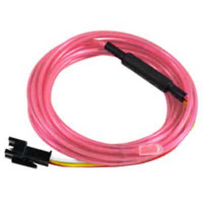 NTE Electronics 69-ELCW3.2PI EL CHASING WIRE 3.2MM DIA PINK 3 METER LENGTH