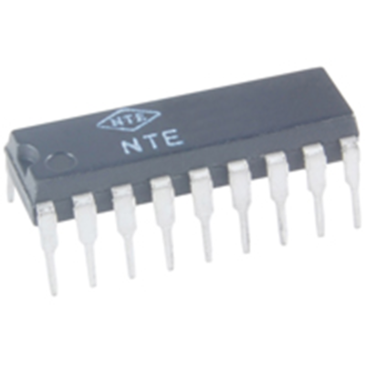 NTE Electronics NTE7108 IC-1.3GHZ PLL FOR TV TUNING 4-SOFTWARE CONTROLLED OUTPUT